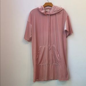 SILENCE + NOISE URBAN OUTFITTERS PINK DRESS